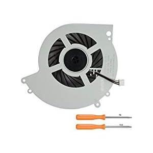 rinbers interner CPU GPU Kühler Fan Ersatzteil für Sony Playstation 4PS4cuh-1200cuh-12X X Serie Konsole 500GB ksb0912he mit Tool Kit