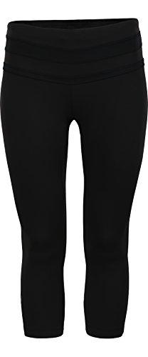 Zoot Liquid Core Capri-Hose zum Laufen für Damen Medium schwarz / schwarz (Wear Capri Athletic)