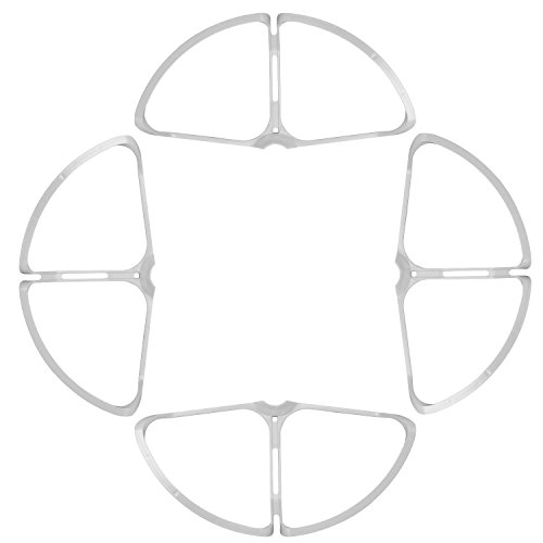 Neewer 4 helix parts removable guards, guards, propeller protectors for the DJI Phantom 4, ABS plastic material, for beginners and advanced users (white)