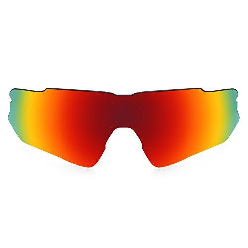 Revant Schutzglas für Oakley Radar EV Path Polarisierung Elite Feuerrot MirrorShield® Asian Fit