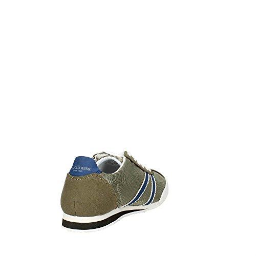 U.s. Polo Assn ELCOR4059S7/MH1 Sneakers Homme Vert foncé