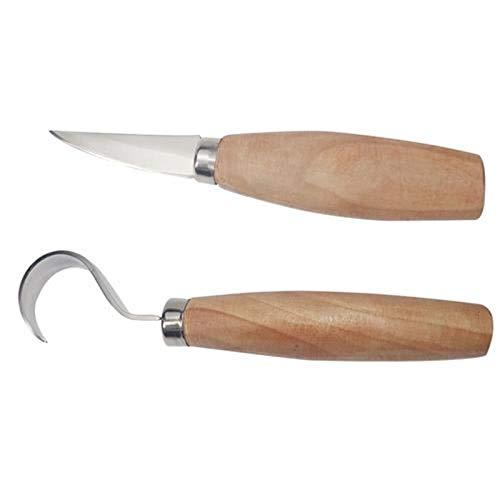 Peahop Holzschnitzerei Werkzeuge Set, Wachsschnitzerei Kit Messer Kits DIY für Gummi, Kleiner Kürbis, Seife, Gemüse