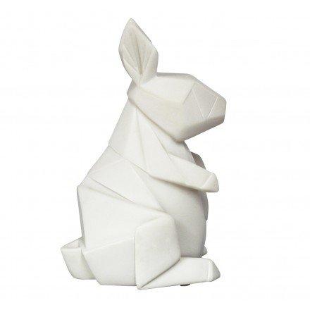 LEDRABWH House of Disaster Mini-Nachtlicht Kaninchen Origami weiß für Kinderzimmer. -
