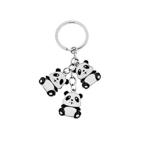 sg-paris-fashion-accessories-key-ring-metal-black-panda