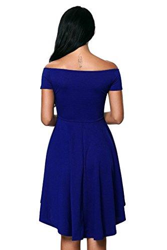 Oderola Damen Sexy Kleid Dress Bandeau Kleid Trägerlos Club ...