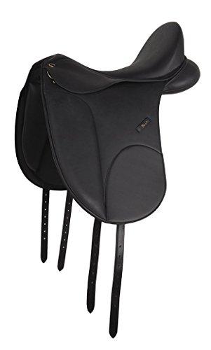 HKM 555517 Dressursattel - Zeus Premium, XL, schwarz