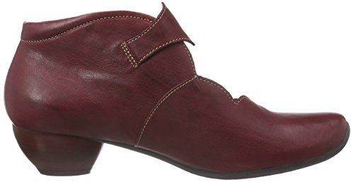 Think! Aida Ankle Boot, Bottes femme Rouge - Rot (ROSSO/KOMBI 72)