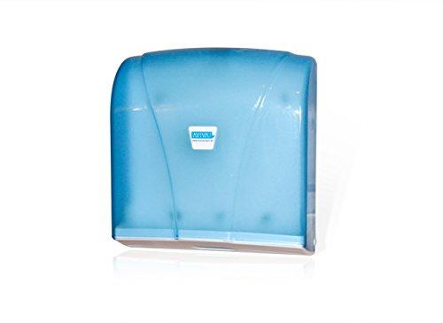 Aviva Clean Handtuchspender , Papierspender , Papierhandtuchspender , 200 Blatt Transparent Kunststoffspender für Praxen & Krankenhäuser auch geeignet