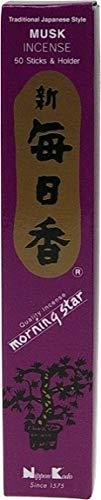 DG-EXODIF Incienso japonés-almizcle-recinto de 50Sticks