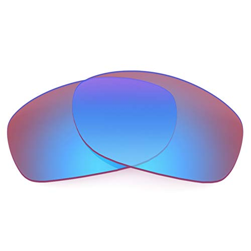 Revant Ersatzlinsen für Oakley Pit Bull Elite Tracer Rosa MirrorShield® Asian Fit