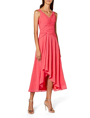 Astrapahl Co6021ap, Vestito Donna, Rosa (Watermelon), 32