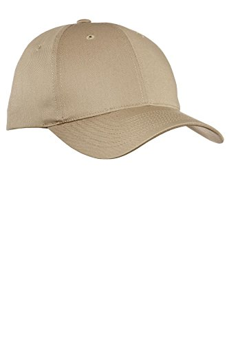 Port Authority® Fine Twill Cap. C800 Khaki OSFA (Twill Port Cap Authority)