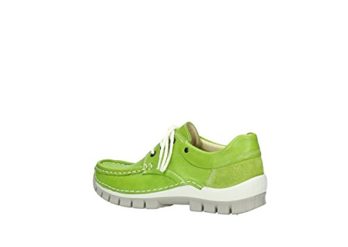 Wolky 4700 Jump, Scarpe stringate donna Grigio * 775 lime leather