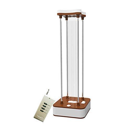 UV-Sterilisierungslampe für Desinfektionslampe, integrierte UV-keimtötende Lampe mit Ozon, tötet 99,9% Viren Bakterien Schimmel Milben Keime mit Fernbedienung für Auto WC,Quartz,Without ozone -