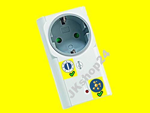 Intertechno Funk-Zwischenstecker Steckdose ITR-1500-C (Connect-All-Version/Bulkware) -Kompatibel mit ALLEN Intertechno-Sendern (Lehrende UND Codierrad/Hauscode-Sender)