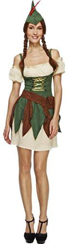 Damen Erwachsene Sexy Fever Fancy Kleid Sexy Outlaw Kostüm (Kostüme Outlaw)