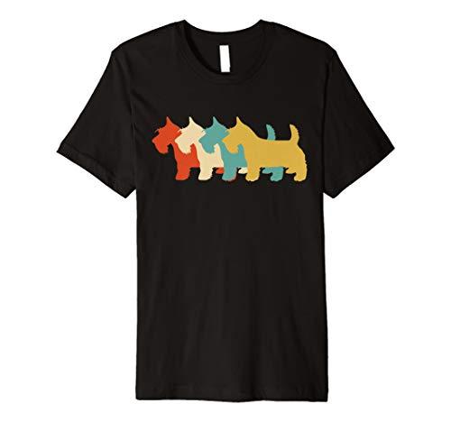 Scottish Terrier T-shirt (Scottish Terrier Hund Hemd)