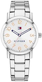 Tommy Hilfiger Women'S White Dial Stainless Steel Watch - 178