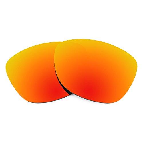 Revant Ersatzlinsen für Oakley Frogskins Feuerrot MirrorShield®
