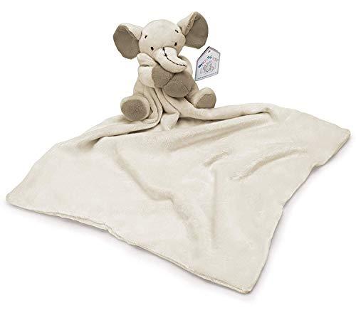 Mousehouse - copertina con peluche a forma di elefantino - per neonati - grigio