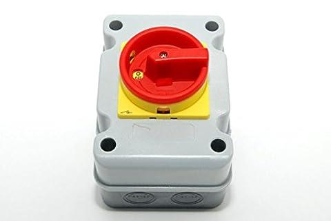 Interrupteur 4 Poles - Coffret Interrupteur de proximité - Coffret 4