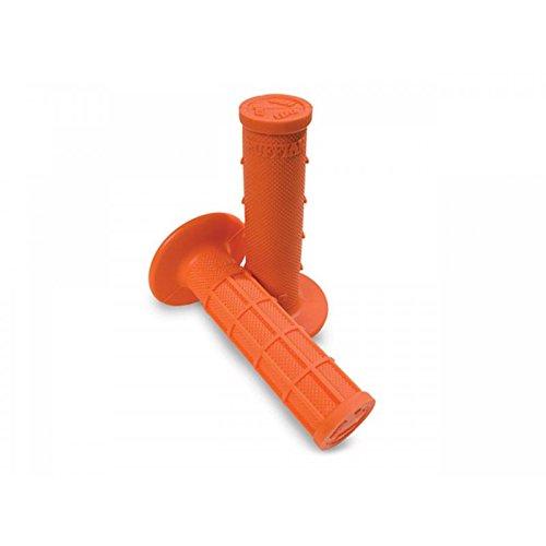 Preisvergleich Produktbild Lenkergriffe ODI Rammbock half-waffle semi-gaufré orange