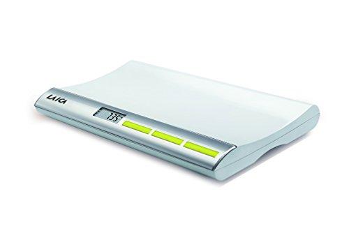 LAICA PS3001 Báscula para bebés digital con bloqueo del peso del neonato
