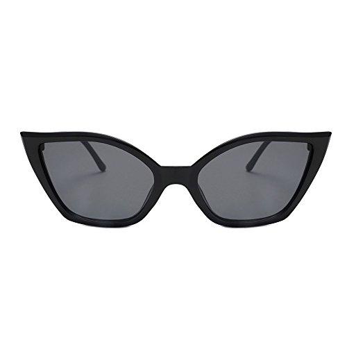 Oyedens Lady Cat Eye Sonnenbrillen - Damenmode Vintage Cateye Frame Shades Acetat UV Brillen Sonnenbrillen