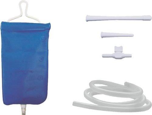 Kosmetex Reise-Irrigator Einlaufsystem Klistier für Einlauf Heilfasten Wanderfasten