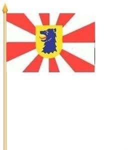 Stockfahne Scharbeutz Fahne Flagge Grösse 30x40cm - FRIP –Versand®
