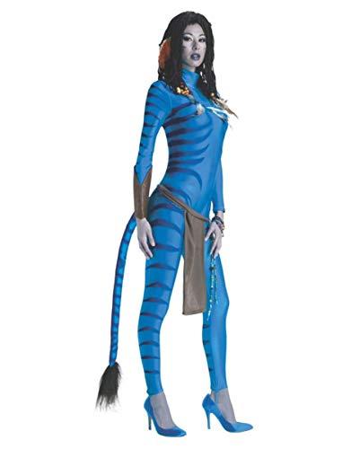 Horror-Shop Avatar Neytiri Frauenkostüm für Fasching & Karneval XS (Kostüm Pandora Armbänder)