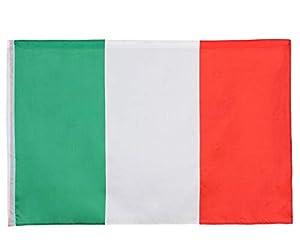 Atosa-24507 Atosa-24507-Bandera Italia 135X80 cm-Mundial De Fútbol Y Deportes, Color Verde, Blanco y Rojo (24507)