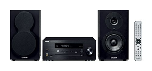 Yamaha MCR-N470D Black/Black MusicCast Mikro-Komponentensystem schwarz