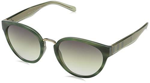 BURBERRY Damen 0Be4249 3659E1 53 Sonnenbrille, Grün (Green/Greenblack)