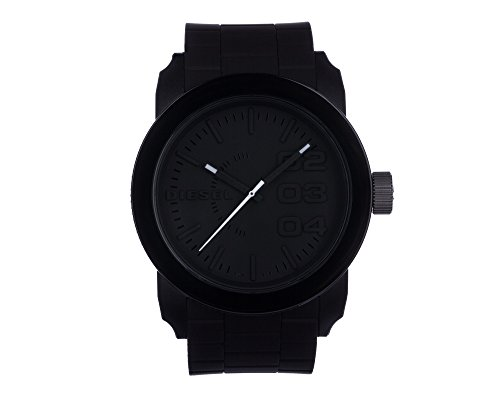 Diesel Unisex's Watch Analogue Quartz Rubber Black DZ1437