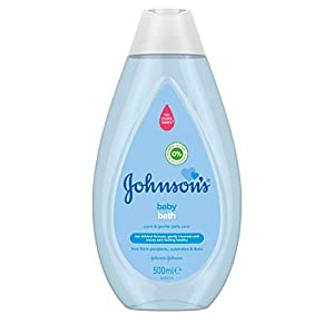 JOHNSON'S Baby Bath 500ml - Gentle and Mild for Delicate Skin and Everyday Use - pH Balanced for Delicate Skin