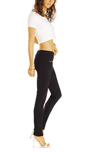 bestyledberlin -  Pantaloni  - Leggings  - Donna Nero