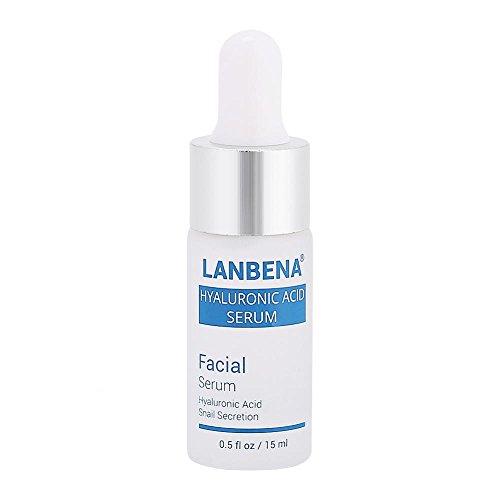 Hyaluronsäure Serum Pure Schnecke Secretion Moisturizer Anti-Aging Whitening Öl-Kontrolle Essenz...