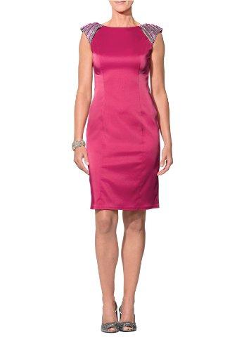 APART Fashion - Robe en satin - rose Rose