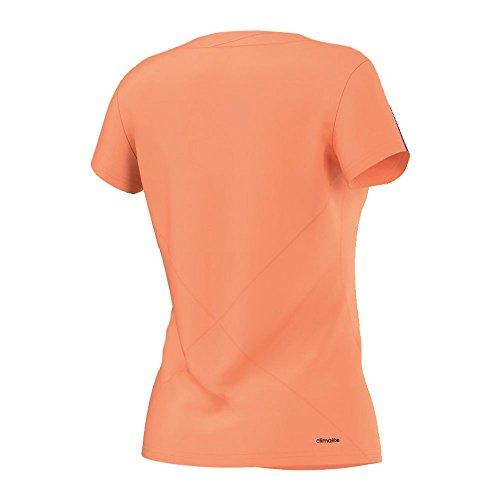 adidas Oberbekleidung Response Tee flash orange s15/night flash s15