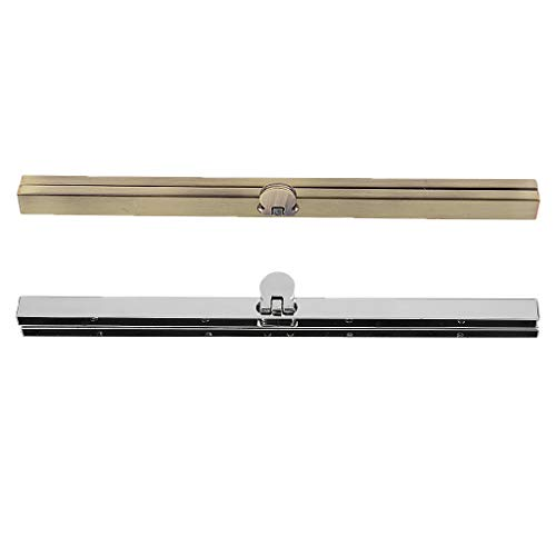 IPOTCH 2 Stücke Nähen Münzbeutel Taschenbügel Taschenverschluss Abend Geldbörse Metallrahmen Verschluss Befestigung Bronze Zinn -