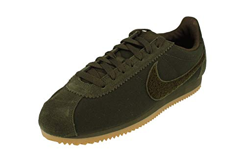 Nike Herren Classic Cortez Se Sneakers Mehrfarbig Sequoia/Gum Light Brown 001, 43 EU