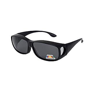 Polarized Over-glasses - Sunglasses to Wear Over Prescription Glasses - UV 400 Protection