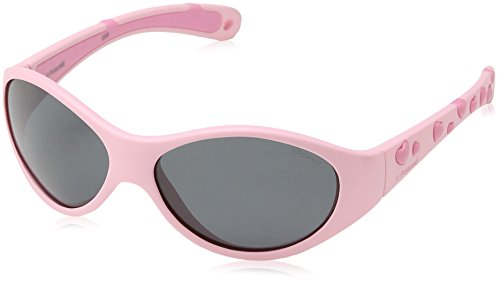 Polaroid Unisex-Kinder P0401 Y2 55L 47 Sonnenbrille, Pink (Rose/Grey Polarized),