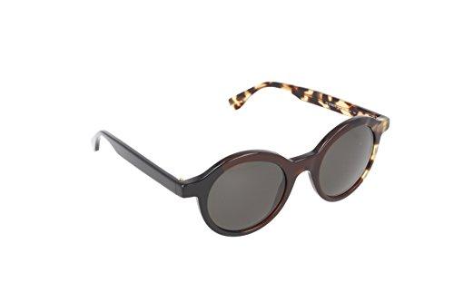 Fendi occhiali da sole ff 0066/s nr rotondi, donna, mxu