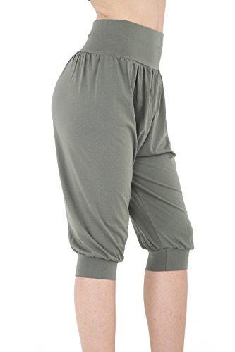 GW CLASSYOUTFIT® Damen Hose Gr. 40, khaki