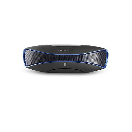 31wO4YZB1sL - Energy Sistem Music Box BZ3 - Altavoz portátil con Bluetooth (USB/SD, FM, Audio-In, Display retroiluminado) Negro y Azul