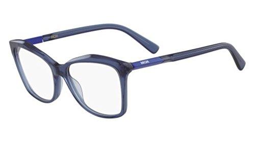 MCM Damen MCM2646 424 54 Sonnenbrille, Blau (Bluette),