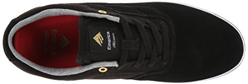 Emerica Herman G6 Vulc, Chaussures de Skateboard homme Noir (Black/White 976)