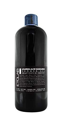 Etolab Natürliches Duschgel mit Süßholz-, Aloe- und Mandarinenextrakten - 1000ml